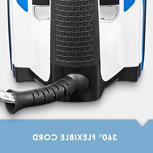 Deik Iron, 1200W Steam Iron, Soleplate, Steam, Temperature Steam Blue/Black
