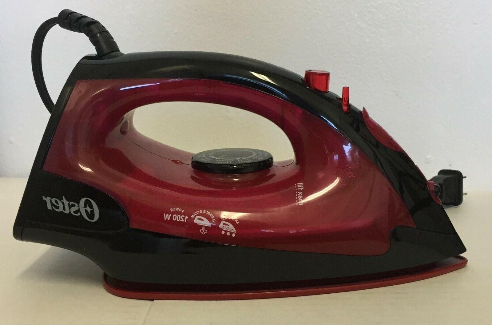 steam iron non stick colored soleplate plancha