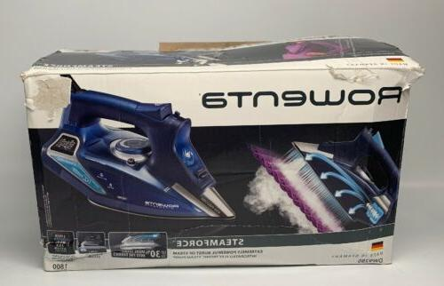 steam iron steamforce model dw9280 1800 watt