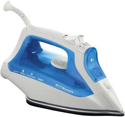 steam iron w self cleaning and automatic