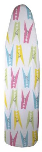 Sunbeam Cotton Ironing Board Cover with Printed Pattern
