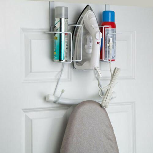 Sunbeam Over The Door Iron, Ironing Board, Spray Can Holder