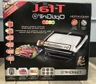 T-FAL GC702 Stainless Steel OPTIGRILL 1800w Indoor Grill Lot