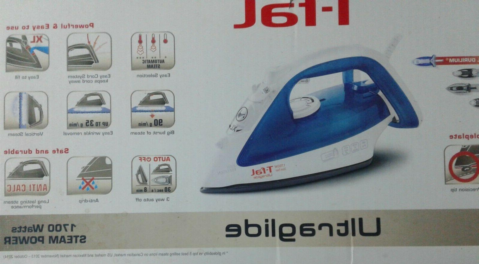 T-fal 1700 Steam iron, Blue