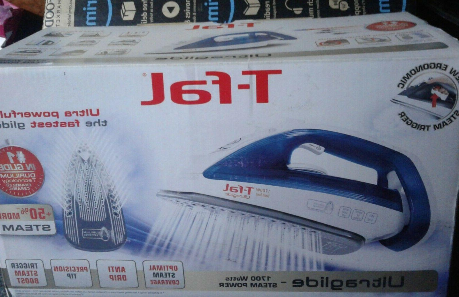 T-fal Ultraglide 1700 Steam Blue