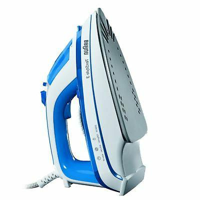 Braun TexStyle 3 TS355A Steam Ceramic Soleplate Blue &
