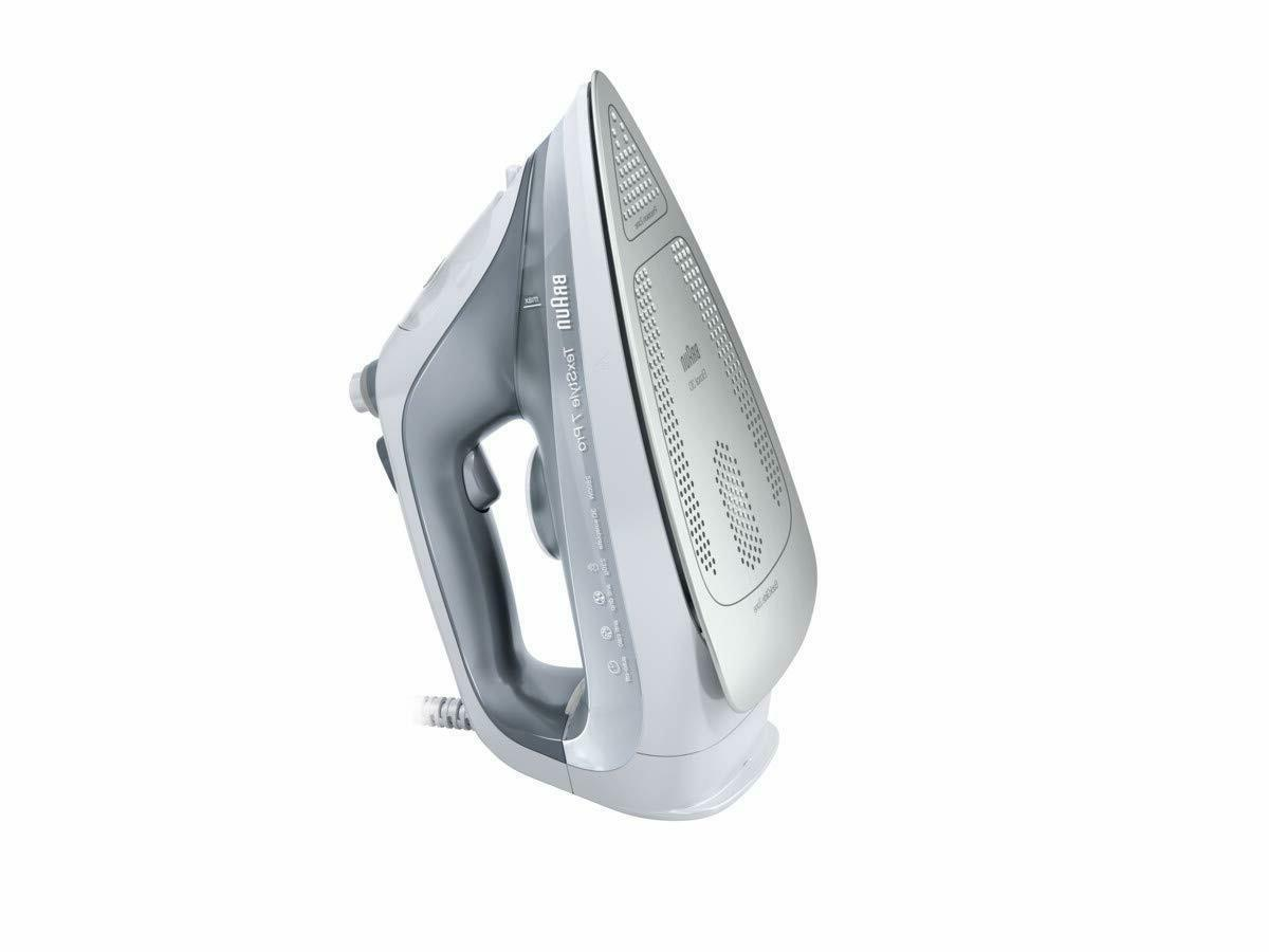 Braun Texstyle 7 SI7088GY Iron, Soleplate Eloxal 3D with Iro