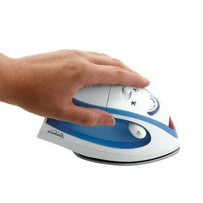 Travel Sunbeam Portable Iron Voltage
