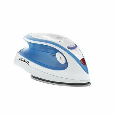 Travel Iron Sunbeam Portable Compact Iron Dual