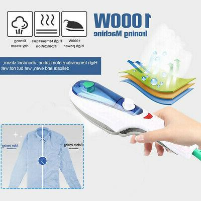 1000W Portable Handheld Electric Steam Iron Fabric Laundry S