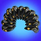 Black/Yellow Golf Club Iron Covers Headcovers For Titleist M