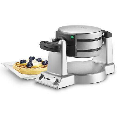 waf double round belgian waffle