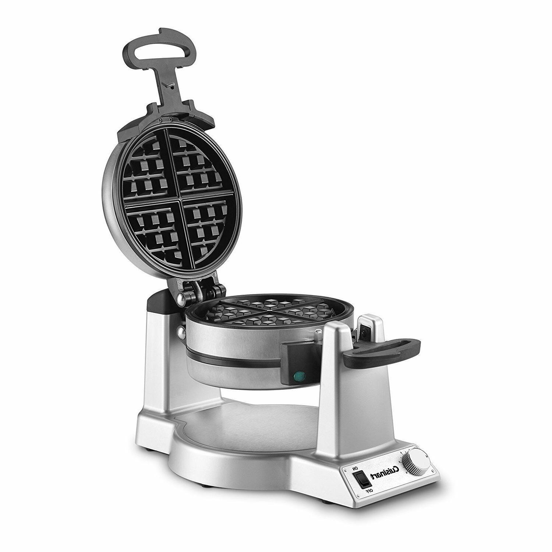 Cuisinart WAF-F20 Double Belgian Waffle Maker, Stainless Ste