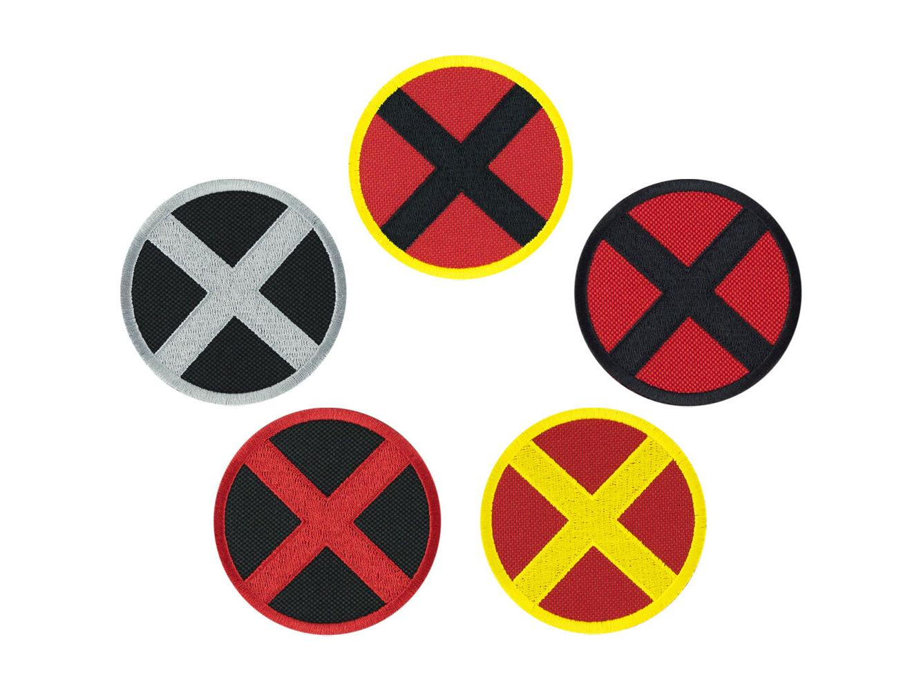 X Men - Various Colors - Embroidered Iron On Patch Iron on A