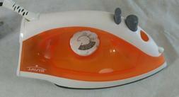 Rival lightweight iron orange steam Hot Water Dry option pum