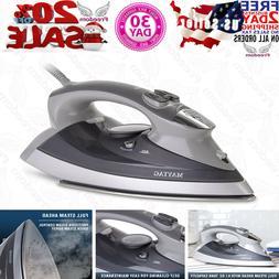 Maytag M400 Speed Heat Steam Iron & Vertical Steamer with St