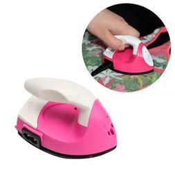 Mini Electric Iron Small Portable Travel Crafting Craft Clot