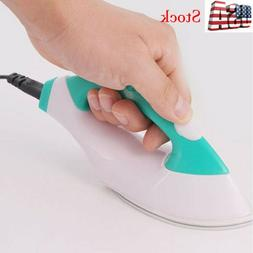 Mini Electric Iron Small Portable Travel Crafting Clothes Se
