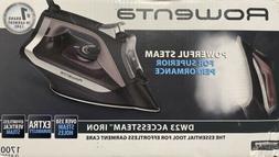 New! Rowenta DW23 Accessteam Steam Iron 1700W