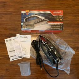 New In Box Sunbeam Soleplate Aero Ceramic Iron GCSBDS-209