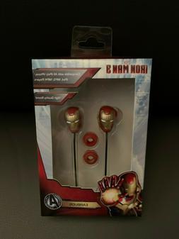New Marvel Iron Man 3 Earbuds Headphones