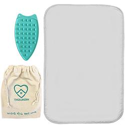 Highlight Premium Non-Slip Ironing Mat, 100% Cotton Flat Thi