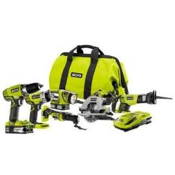 Ryobi P884 One+ Combination Lithium Ion Cordless Power Tool