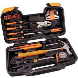 CARTMAN Orange 39-Piece Tool Set - General Household Hand To