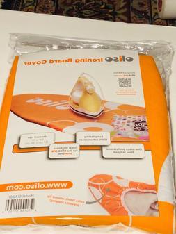 Oliso Orange Standard Ironing Board Cover 100% Cotton 54 x 1