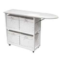 SpaceMaster SM-NX-906 Ironing Board Station, Oversized Wheel