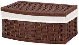 Household Essentials Paper Rope Curved Basket