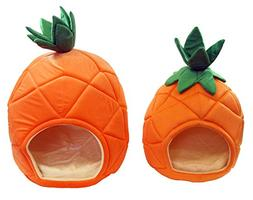 YML Pineapple Pet Bed house, Set of 2