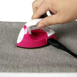 Portable Mini Electric Iron Craft Clothes Sewing Supplies Fo
