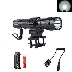 High Power 1000Lm Flashlight Set, Bright Tactical Light Torc