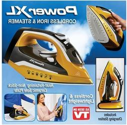powerxl cordless iron and steamer as seen