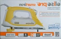 Oliso Pro Smart Iron TG1100 Yellow For Sewers, Quilters & Cr