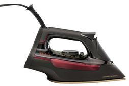 CHI Professional Clothing Iron  Ceramic Black Powerful Steam