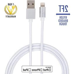 iPhone Charger Cable  by vCharged/Apple Lightning Cable, Gre