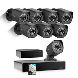 Zmodo 1080p Full HD 8 Outdoor Video Surveillance Security Ca