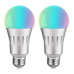 Brizled Smart Light Bulbs, A19 60W Equivalent Smart Bulb, Di