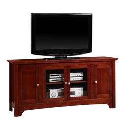 """52"""" Solid Hard Wood TV Media Stand Console , Cherry"""