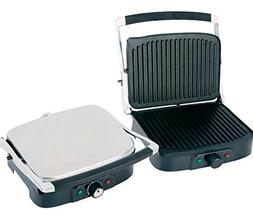 stainless steel grill panini maker