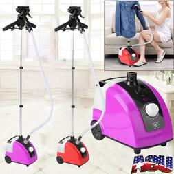 Standing Garment Clothes Fabric Steamer Iron Steam Wrinkle R