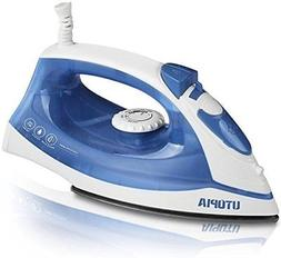 Utopia Home Steam Iron Nonstick Soleplate - Small Size Light