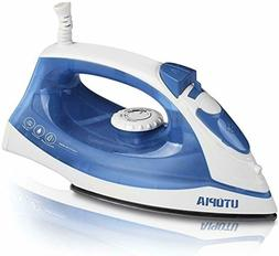 Utopia Home Steam Iron With Nonstick Soleplate, Dry Iron Fun