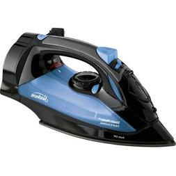 Sunbeam Steam Master Iron with Retractable Cord, Black & Blu