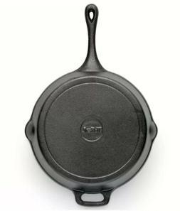 T-FAL CAST IRON SKILLET Pre Seasoned Frying Cookware Pot Ove