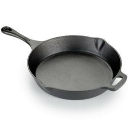 T-fal Pre-Seasoned Cast Iron Skillet- 12-Inch Pan