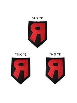 "Team Rocket Pokemon - 3 Pack - 3"" X 4"" Anime Manga Logo Them"