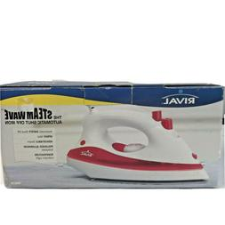 Rival The Steamwave Automatic Shut Off Iron White & Pink IR6